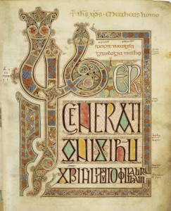 The Opening of Matthew's Gospel in the Lindisfarne Codex
